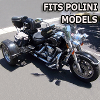 Outlaw Series Motorcycle Trike Kit - Fits All Polini Models
