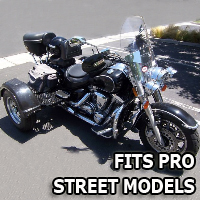 Outlaw Series Motorcycle Trike Kit - Fits All Pro Street Models