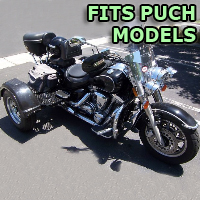 Outlaw Series Motorcycle Trike Kit - Fits All Puch Models