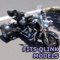 Outlaw Series Motorcycle Trike Kit - Fits All Qlink Models