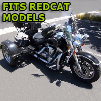 Outlaw Series Motorcycle Trike Kit - Fits All Redcat Models