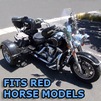 Outlaw Series Motorcycle Trike Kit - Fits All Red Horse Models