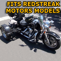 Outlaw Series Motorcycle Trike Kit - Fits All Redstreak Motors Models