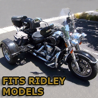 Outlaw Series Motorcycle Trike Kit - Fits All Ridley Models