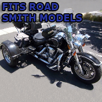 Outlaw Series Motorcycle Trike Kit - Fits All Road Smith Models