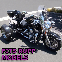 Outlaw Series Motorcycle Trike Kit - Fits All Rupp Models
