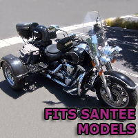 Outlaw Series Motorcycle Trike Kit - Fits All Santee Models