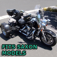 Outlaw Series Motorcycle Trike Kit - Fits All Saxon Models