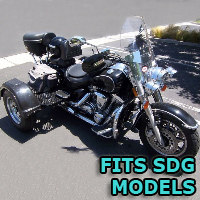 Outlaw Series Motorcycle Trike Kit - Fits All SDG Models
