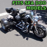 Outlaw Series Motorcycle Trike Kit - Fits All Sea Doo Models