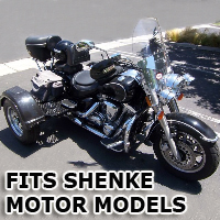 Outlaw Series Motorcycle Trike Kit - Fits All Shenke Motor Models