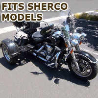 Outlaw Series Motorcycle Trike Kit - Fits All Sherco Models