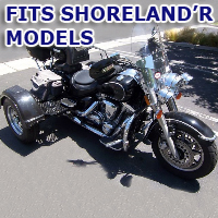 Outlaw Series Motorcycle Trike Kit - Fits All Shoreland'R Models