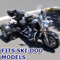 Outlaw Series Motorcycle Trike Kit - Fits All Ski-Doo Models