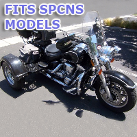 Outlaw Series Motorcycle Trike Kit - Fits All SPCNS Models