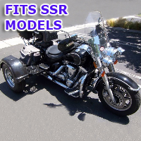 Outlaw Series Motorcycle Trike Kit - Fits All SSR Motorsports Models