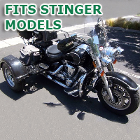 Outlaw Series Motorcycle Trike Kit - Fits All Stinger Models
