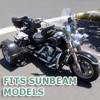 Outlaw Series Motorcycle Trike Kit - Fits All Sunbeam Models