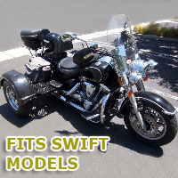 Outlaw Series Motorcycle Trike Kit - Fits All Swift Models