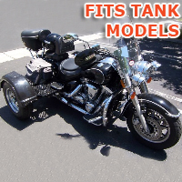 Outlaw Series Motorcycle Trike Kit - Fits All Tank Models