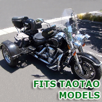 Outlaw Series Motorcycle Trike Kit - Fits All TAOTAO Models
