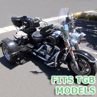 Outlaw Series Motorcycle Trike Kit - Fits All TGB Models