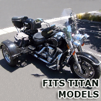 Outlaw Series Motorcycle Trike Kit - Fits All Titan Models