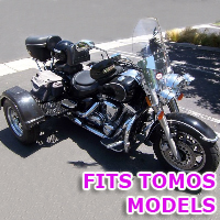 Outlaw Series Motorcycle Trike Kit - Fits All Tomos Models