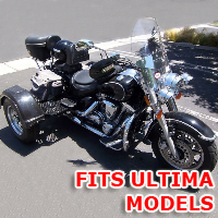 Outlaw Series Motorcycle Trike Kit - Fits All Ultima Models