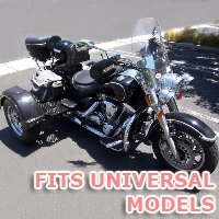 Outlaw Series Motorcycle Trike Kit - Fits All Universal Models