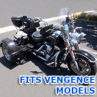 Outlaw Series Motorcycle Trike Kit - Fits All Vengence Models