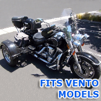 Outlaw Series Motorcycle Trike Kit - Fits All Vento Models