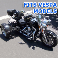 Outlaw Series Motorcycle Trike Kit - Fits All Vespa Models