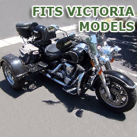 Outlaw Series Motorcycle Trike Kit - Fits All Victoria Models
