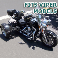 Outlaw Series Motorcycle Trike Kit - Fits All Viper Models