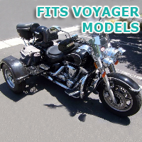 Outlaw Series Motorcycle Trike Kit - Fits All Voyager Models
