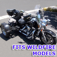 Outlaw Series Motorcycle Trike Kit - Fits All Wildfire Models