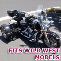Outlaw Series Motorcycle Trike Kit - Fits All Wild West Models