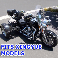 Outlaw Series Motorcycle Trike Kit - Fits All Xingyue Models