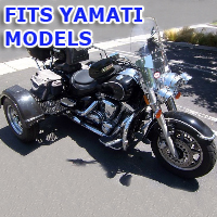 Outlaw Series Motorcycle Trike Kit - Fits All Yamati Models