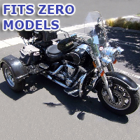 Outlaw Series Motorcycle Trike Kit - Fits All Zero Models