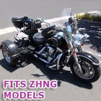 Outlaw Series Motorcycle Trike Kit - Fits All Zhng Models