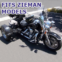 Outlaw Series Motorcycle Trike Kit - Fits All Zieman Models
