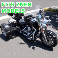 Outlaw Series Motorcycle Trike Kit - Fits All Znen Models