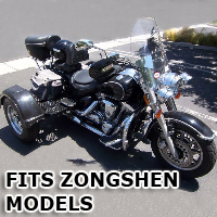 Outlaw Series Motorcycle Trike Kit - Fits All Zongshen Models