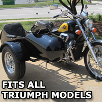 Standard RocketTeer Side Car Motorcycle Sidecar Kit - Triumph Models