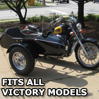 Classical RocketTeer Side Car Motorcycle Sidecar Kit - Victory Models