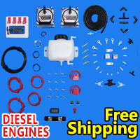 HHO Dual Kit Hydrogen Generator Complete With Free Shipping Diesel - Model 903