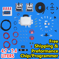 HHO Dual Kit Hydrogen Generator Complete With Free Performance Chip 4.7 - 7.4 Liters - Model 904