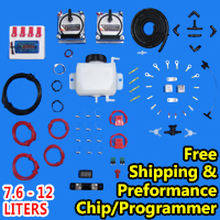 HHO Dual Kit Hydrogen Generator Complete With Free Performance Chip 7.6 - 12 Liters - Model 905
